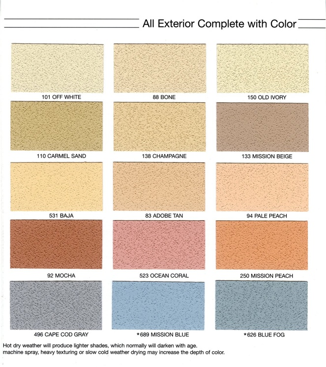 Stucco color chart timiz conceptzmusic co