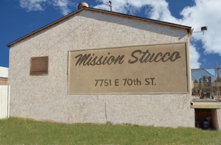 Contact sp for Mission stucco